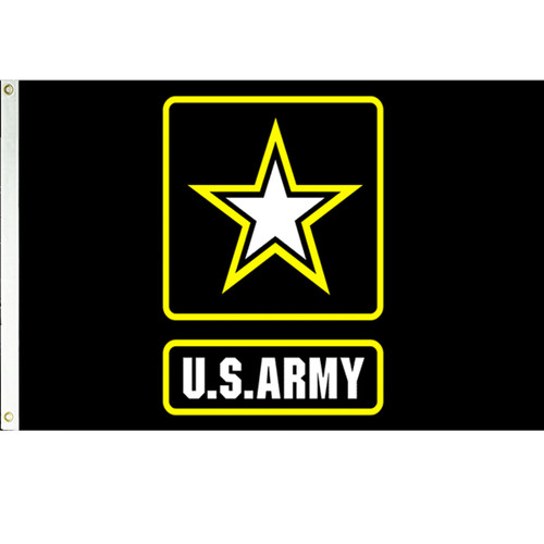 Army Strong Flag (Heading and Grommet Style)