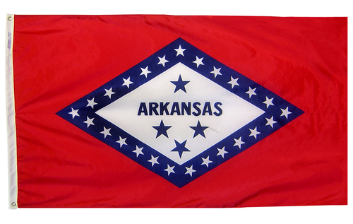 Arkansas - State Flag - For Outdoor Use
