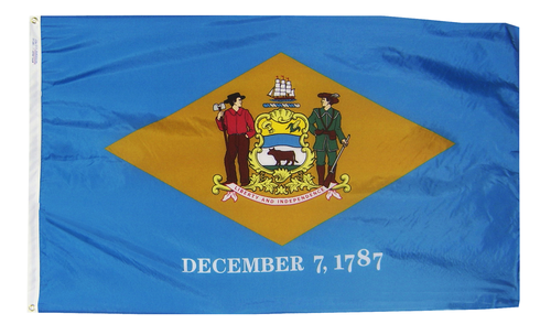 Delaware - State Flag - For Outdoor Use