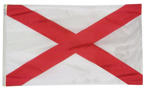 Alabama - State Flag (finished with heading and grommets)