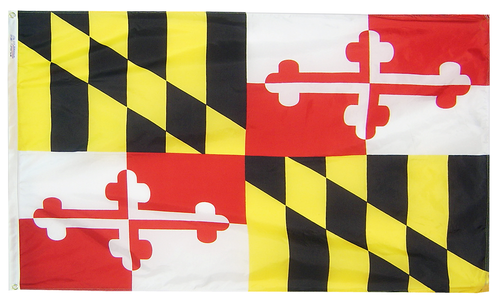 Maryland - State Flag - For Outdoor Use
