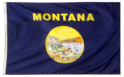 Montana - State Flag - For Outdoor Use