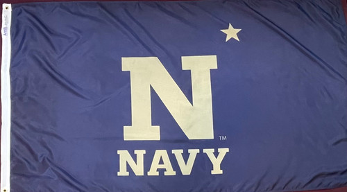 Naval Academy Flag (Heading and Grommet Style)