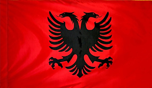 Albania - Flag with Pole Sleeve