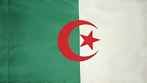 Algeria - Flag with Pole Sleeve