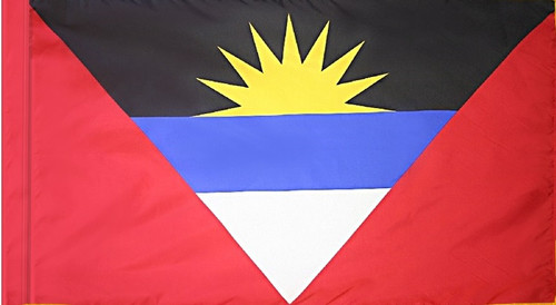 Antigua and Barbuda - Flag with Pole Sleeve