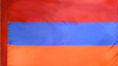 Armenia - Flag with Pole Sleeve