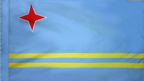 Aruba - Flag with Pole Sleeve