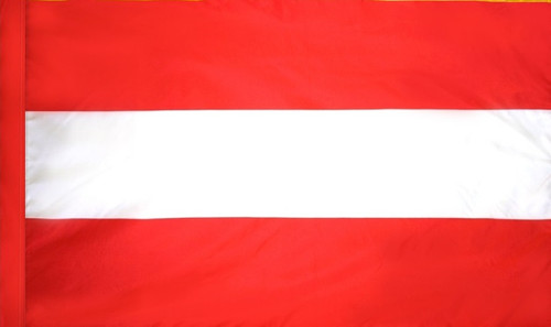 Austria - Flag with Pole Sleeve