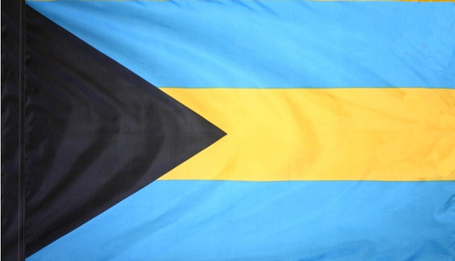 Bahamas - Flag with Pole Sleeve