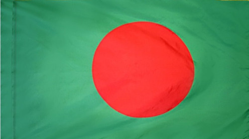 Bangladesh - Flag with Pole Sleeve