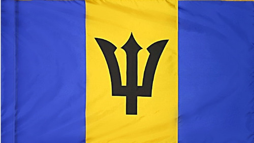 Barbados - Flag with Pole Sleeve