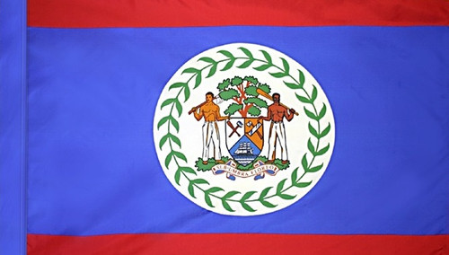 Belize - Flag with Pole Sleeve