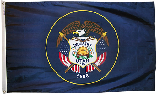 Utah - State Flag - For Outdoor Use