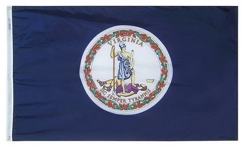 Virginia - State Flag - For Outdoor Use