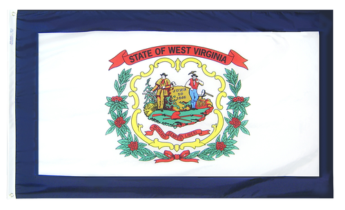 West Virginia - State Flag - For Outdoor Use