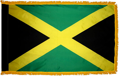 Jamaica Fringed Flag Over 30 Yrs In Business