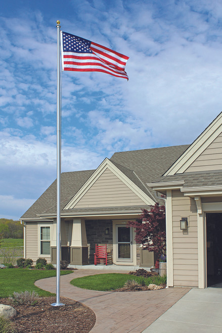 Sectional Aluminum Flagpole