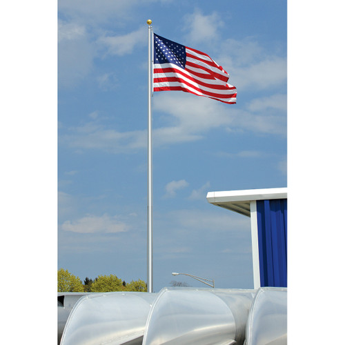 Atlas Flagpole in Satin