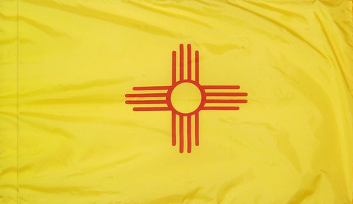 New Mexico - State Flag - Pole Sleeve Style