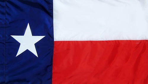 Texas - State Flag - Pole Sleeve Style