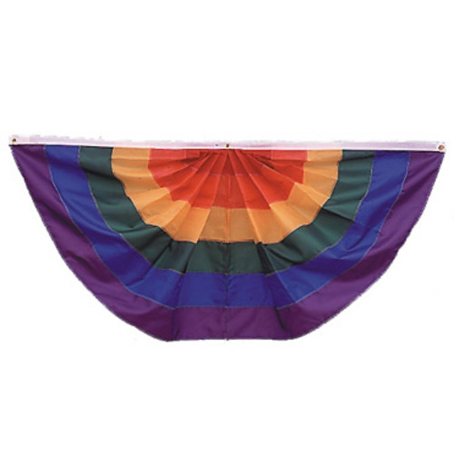 Full Fan - Rainbow - Nylon - 3'x6'