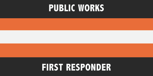 Public Works Flag - 3'x5' - For Outdoor Use
