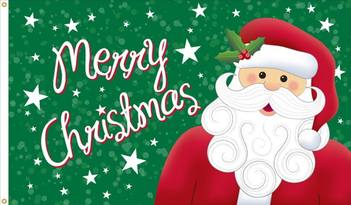 """""""Merry Christmas"""" Flag - 3'x5' - For Outdoor Use"""