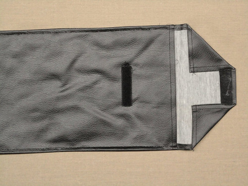 Black Carrying Case closure