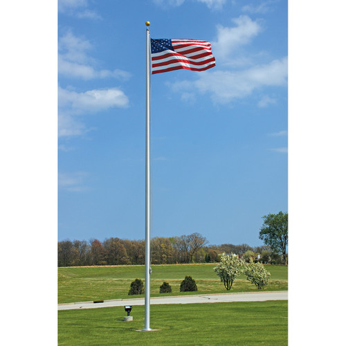 Economy Flagpole in Satin