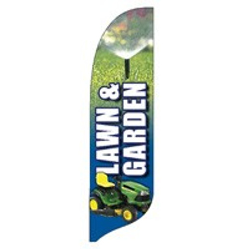"""Lawn & Garden"" Blade Banner - 2'x11' - For Outdoor Use"