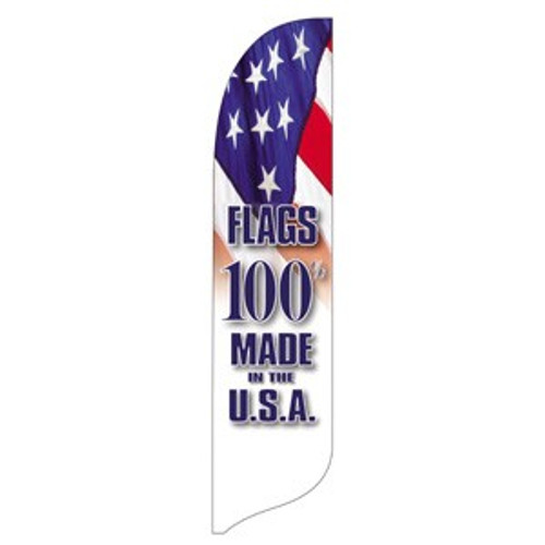 """""""Made in the USA"""" Blade Banner - 2'x11' - For Outdoor Use"""