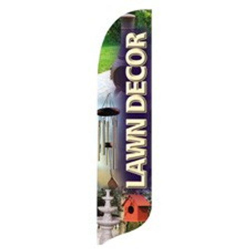 """Lawn Decor"" Blade Banner - 2'x11' - For Outdoor Use"