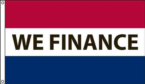 MESSAGE FLAG advertising WE FINANCE