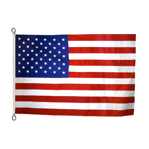 Polyester American Flag Reinforced