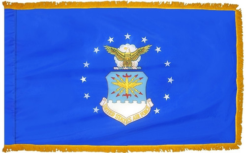 Air Force Flag Fringed