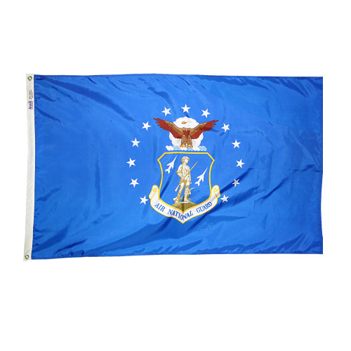 Air National Guard Flag - 3'x5' - For Outdoor Use