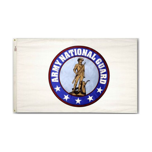 Army National Guard Flag (Heading and Grommet Style)