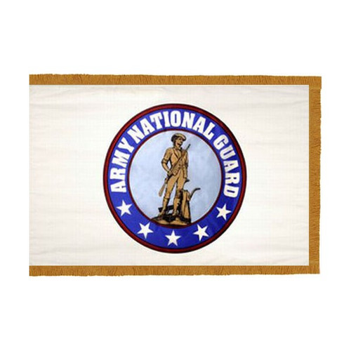 U.S. Army National Guard Flag - Indoor Fringed