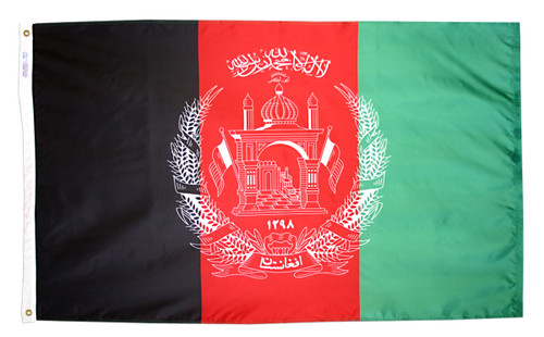 Afghanistan Flag - For Outdoor Use