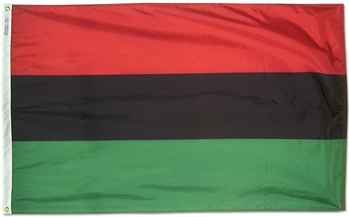 Afro American - Outdoor Flag with heading & grommets