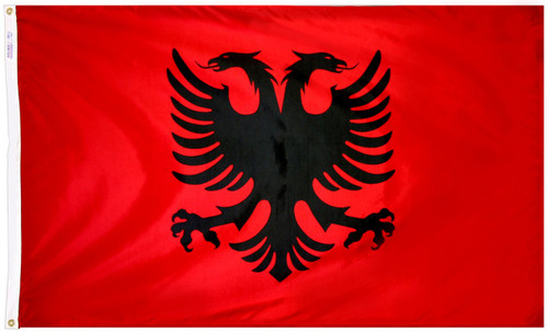 Albania Flag - For Outdoor Use
