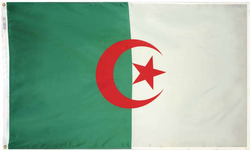 Algeria - Outdoor Flag with heading & grommets