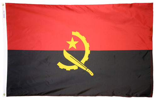 Angola Flag - For Outdoor Use