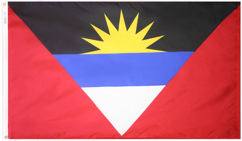 Antigua and Barbuda - Outdoor Flag with heading & grommets