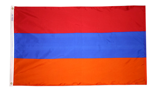 Armenia - Outdoor Flag with heading & grommets
