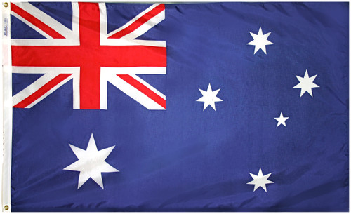Australia - Outdoor Flag with heading & grommets