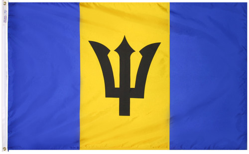 Barbados Flag - For Outdoor Use