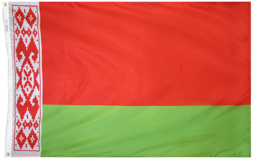 Belarus - Outdoor Flag with heading & grommets