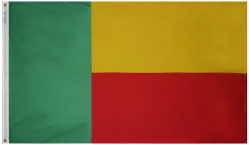 Benin Flag - For Outdoor Use